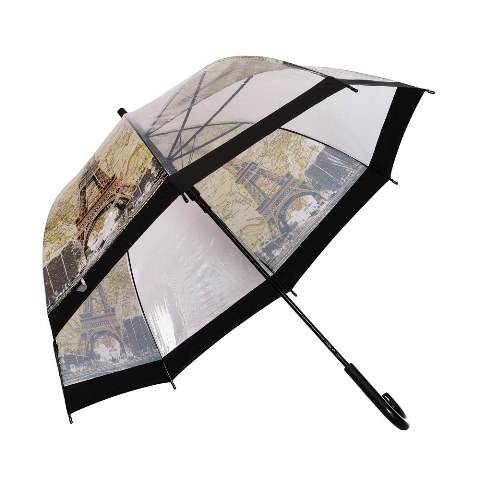 Umbrela dama transparenta EIFEL