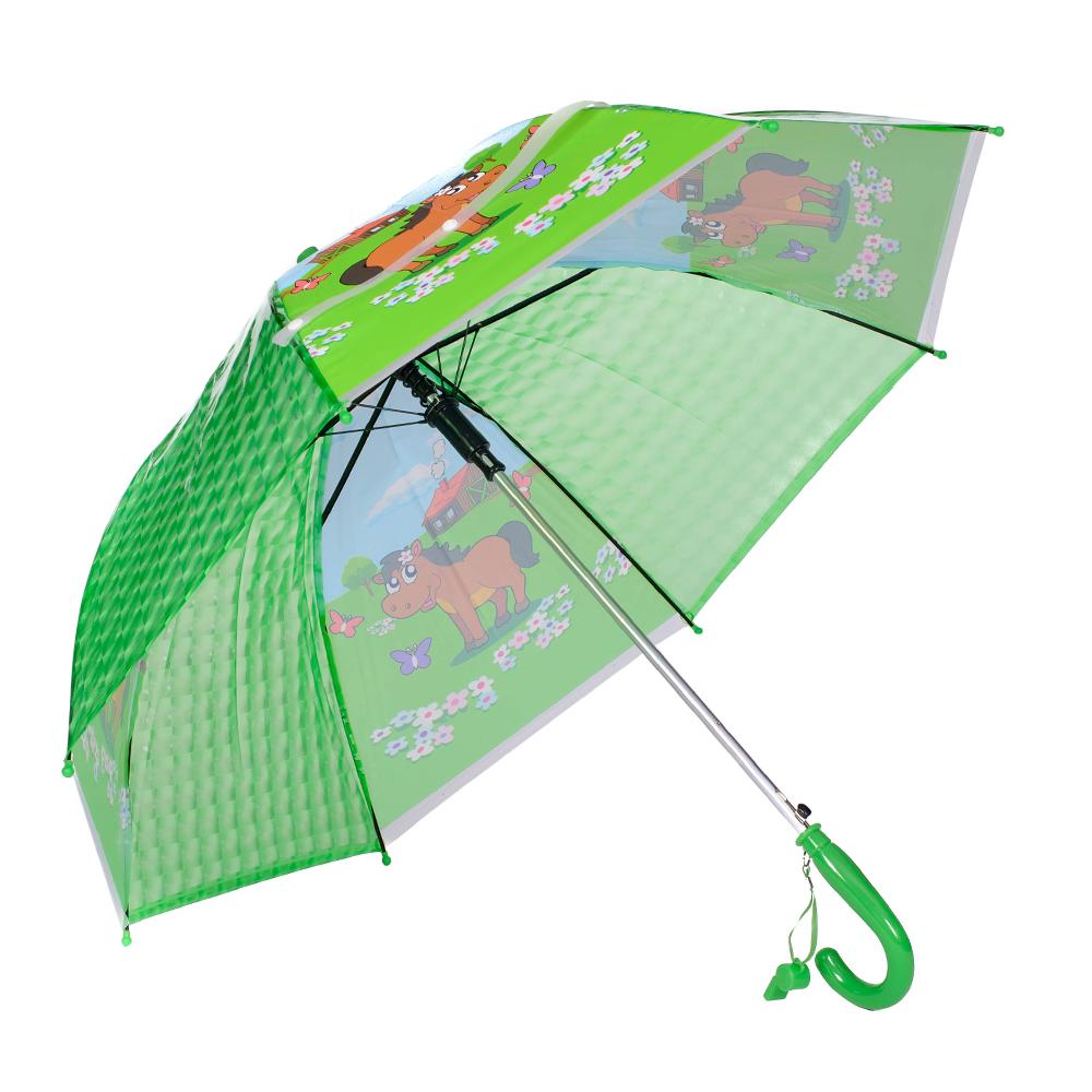 Umbrela copii verde Sorina