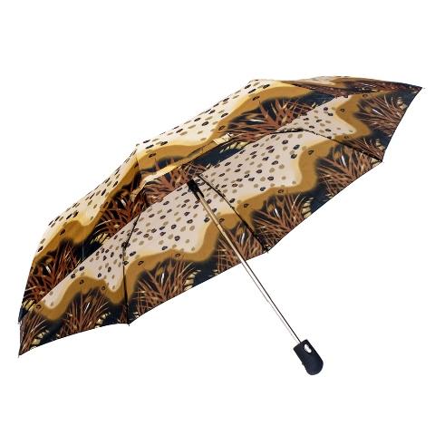 Umbrela dama automata maro cu negru Sina