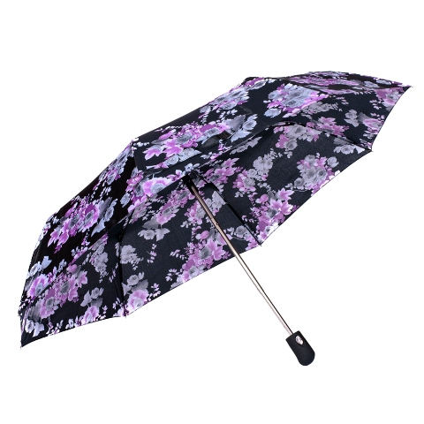 Umbrela dama automata negru cu mov Sina