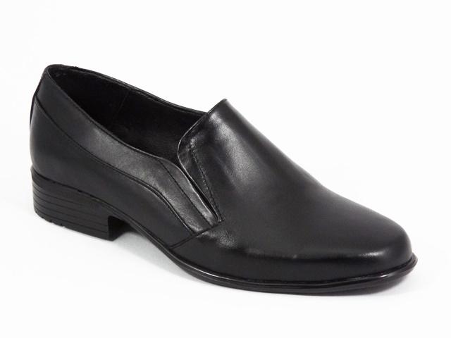 Pantofi barbati piele negri Sergiu