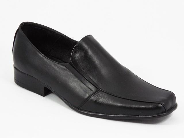 Pantofi barbati piele negri Marius