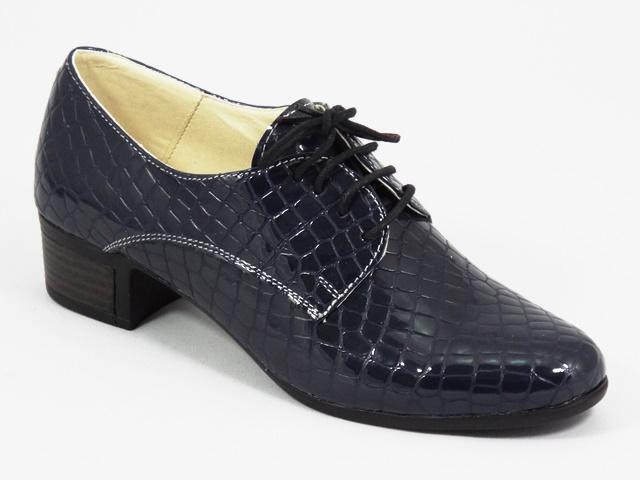 Pantofi dama piele bleumarin Florina