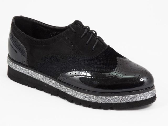 Pantofi dama negri Crina