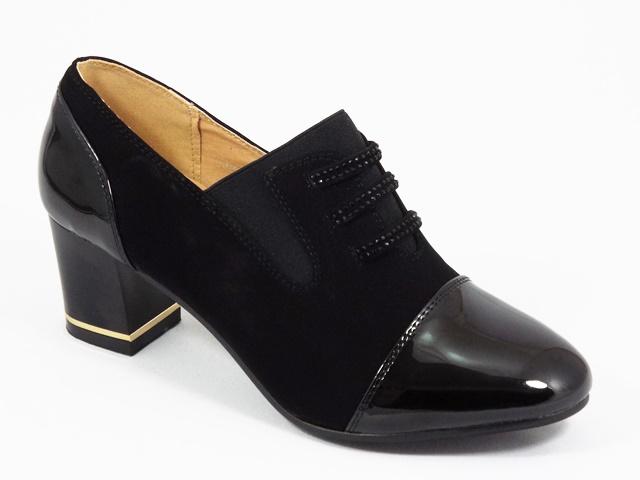 Pantofi dama negri Lora