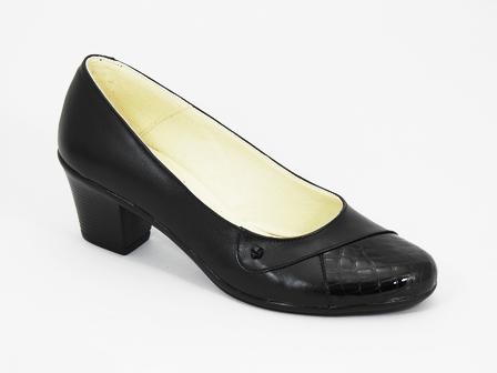 Pantofi dama piele negri Dorina