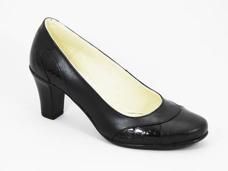 Pantofi dama piele negri Olga