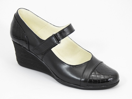 Pantofi dama piele negri Jeny