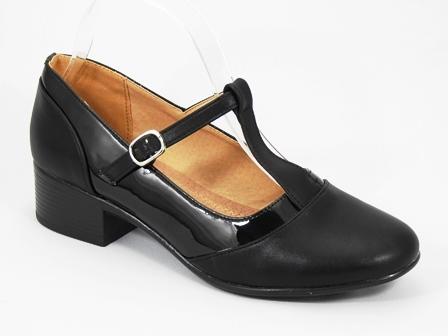 Pantofi dama negri Sigma