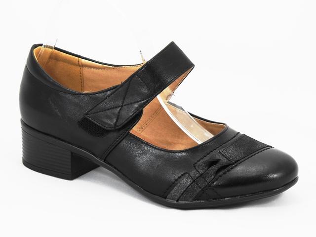 Pantofi dama negri Luminita