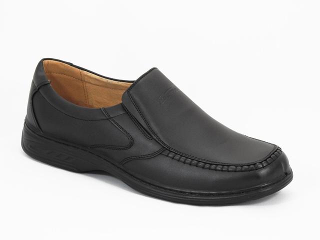 Pantofi barbati negri Kosta