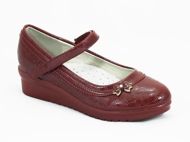 Pantofi fetite visinii Anabela