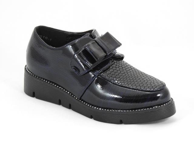 Pantofi fetite bleumarin inchis Magda