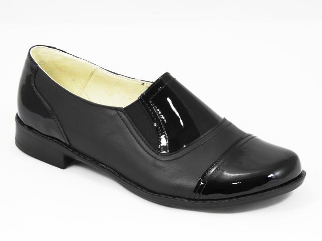 Pantofi dama piele negri Ruxandra