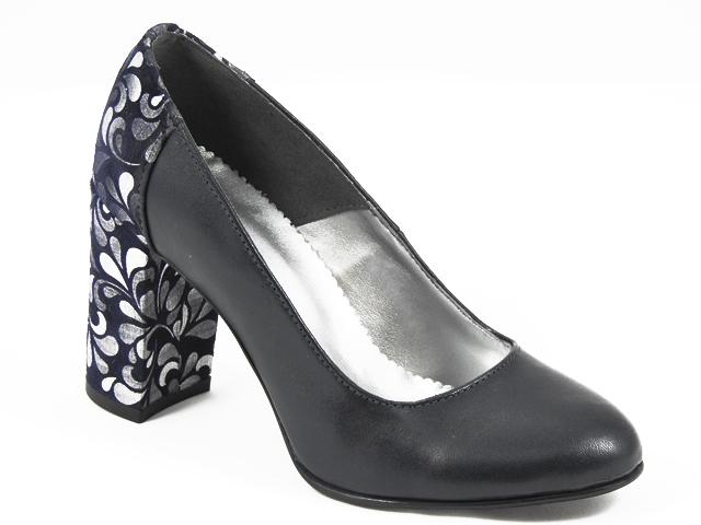 Pantofi dama piele negri Dona