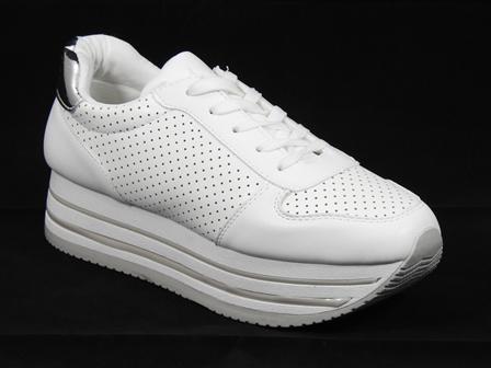 Pantofi dama sport albi Niko