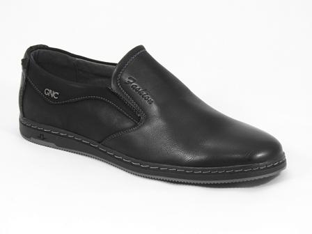 Pantofi barbati negri Daniel