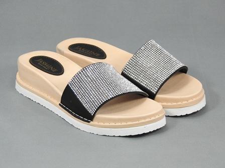 Papuci dama negri Donna