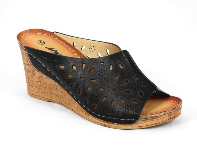 Papuci dama negri Florine