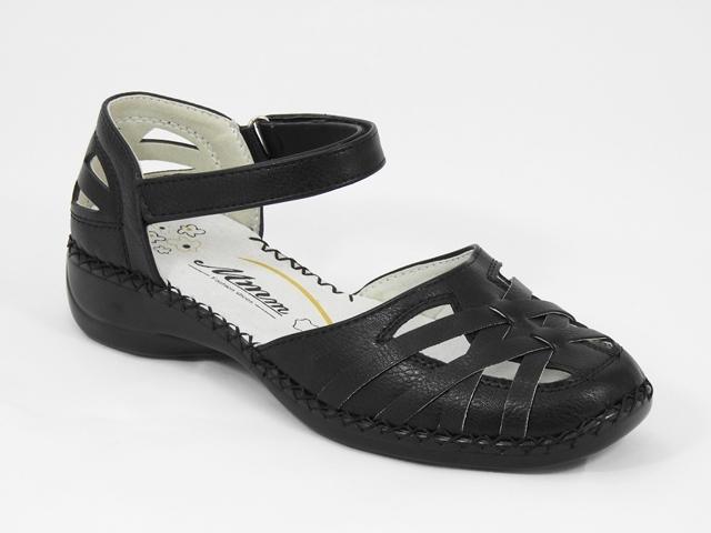 Sandale dama negre Amelia