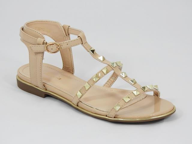Sandale dama bej Galena