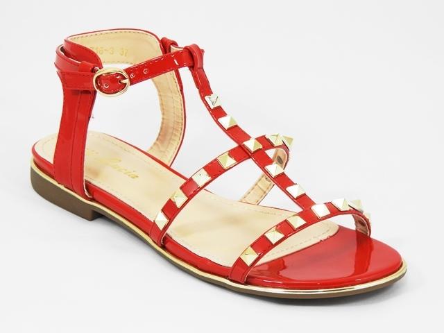 Sandale dama rosii Galena