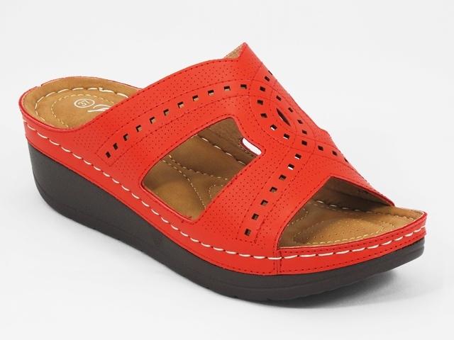 Papuci dama rosii Alina