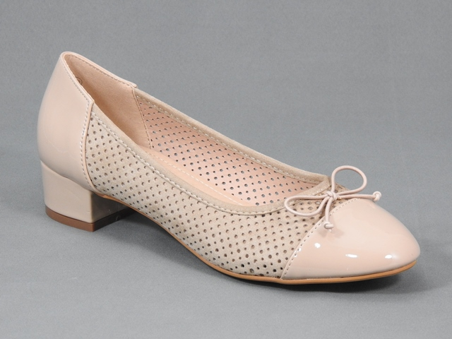 Pantofi dama bej Eveline
