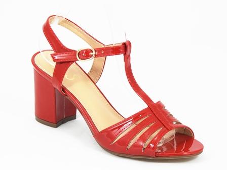 Sandale dama rosii Sonia