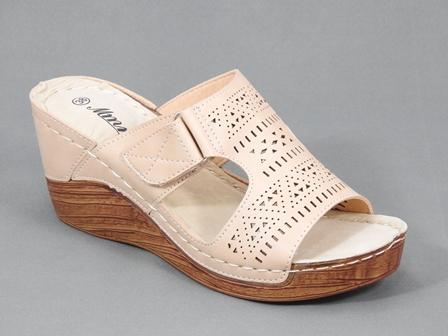 Papuci dama bej Aliss