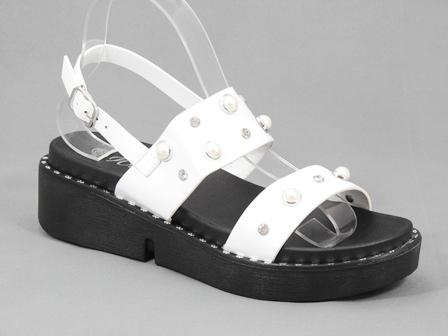 Sandale dama albe Nostra2