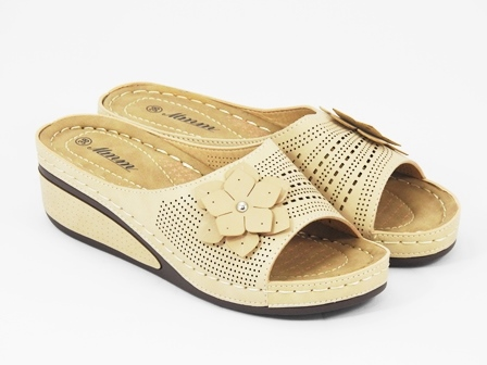 Papuci dama bej Karla