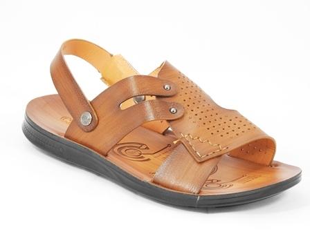 Sandale barbati khaki Cezar