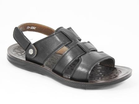 Sandale barbati negre Mambe