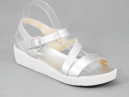 Sandale dama argintii Salome