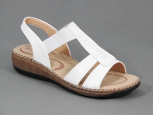 Sandale dama albe Doina