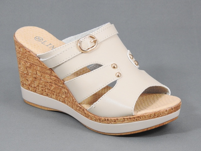 Papuci dama bej Gabriela