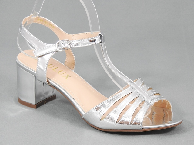 Sandale dama argintii Oana
