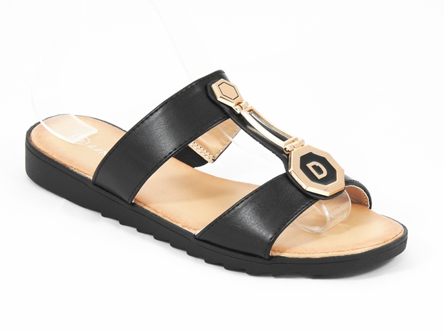 Papuci dama negri Aura