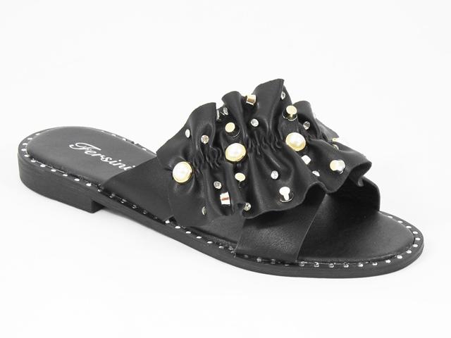 Papuci dama negri Dorina