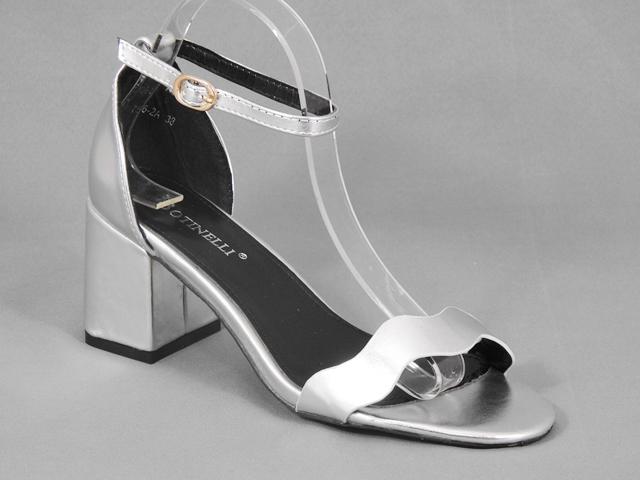 Sandale dama argintii Kaola