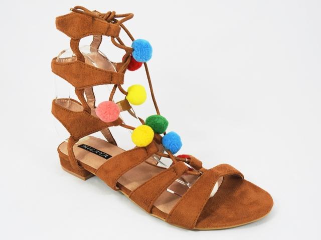 Sandale dama maro Romana