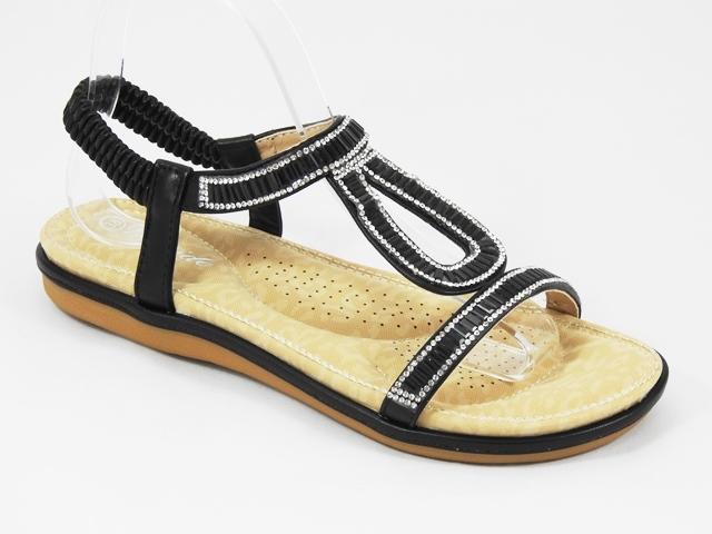 Sandale dama negre Noly2