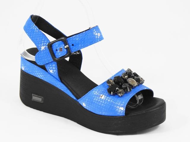 Sandale dama piele albastre Adina
