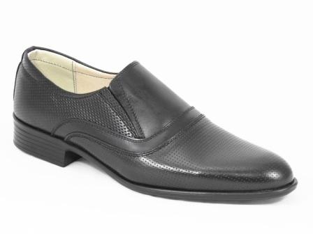 Pantofi barbati piele negri Dorian