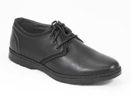 Pantofi barbati negri Sorin