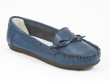 Pantofi dama piele bleumarin Lilia