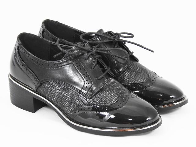 Pantofi dama negri Adina