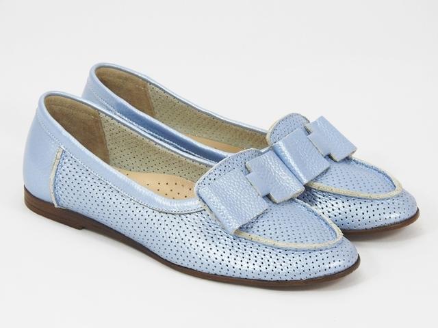 Pantofi dama piele bleu Anita