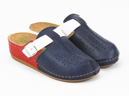 Papuci dama tricolori Delia